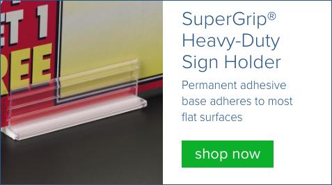 supergrip sign holder