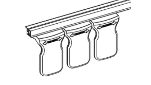 invisi-shield under-shelf style rail