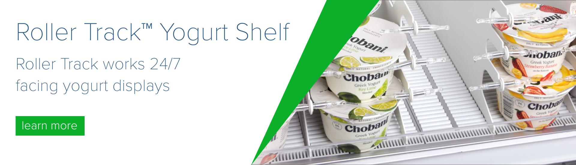 roller track yogurt