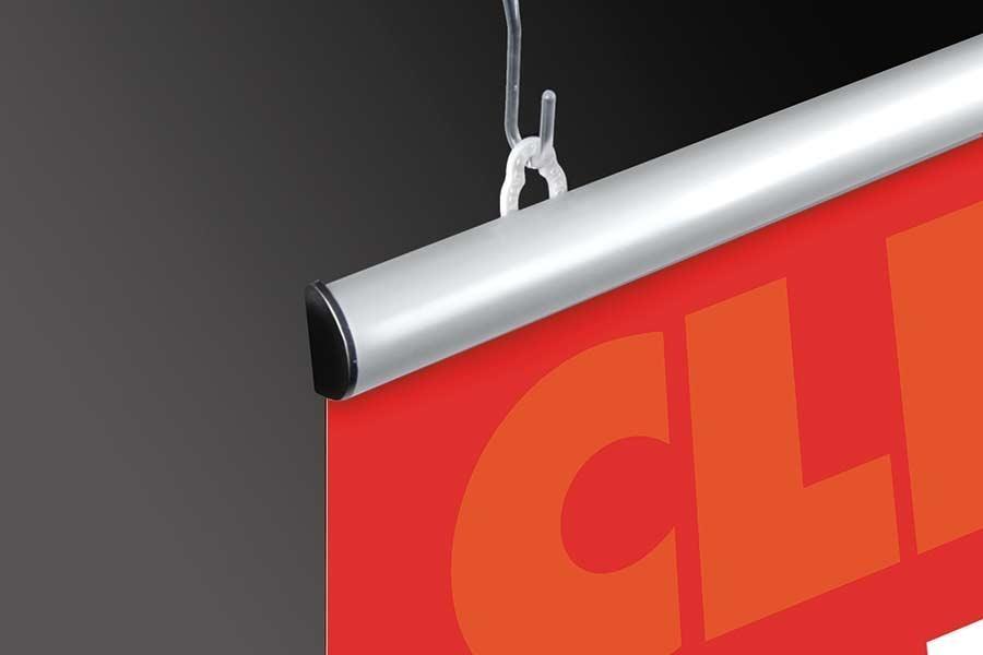Aluminum Poster Rails