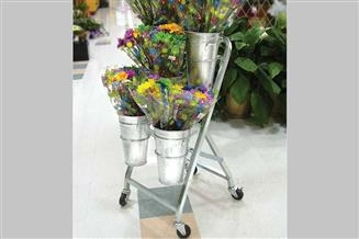 Mobile European Flower Cart