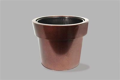 Copper Floral Buckets