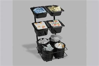 Condiment Organizer-Eight Compartment