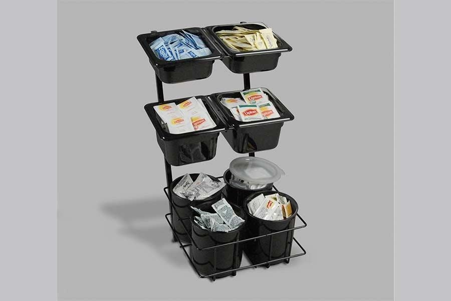 Eight Compartment Condiment Organizers