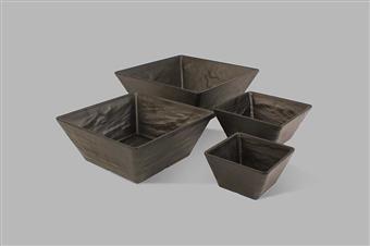 Slate Melamine Bowls and Platters