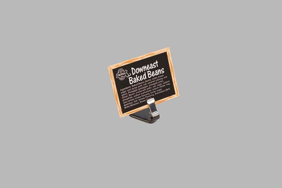 Weighted Base Flat Sign Holder