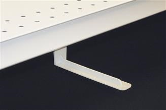 Magnetic Under-Shelf Mount Bracket, L-Style