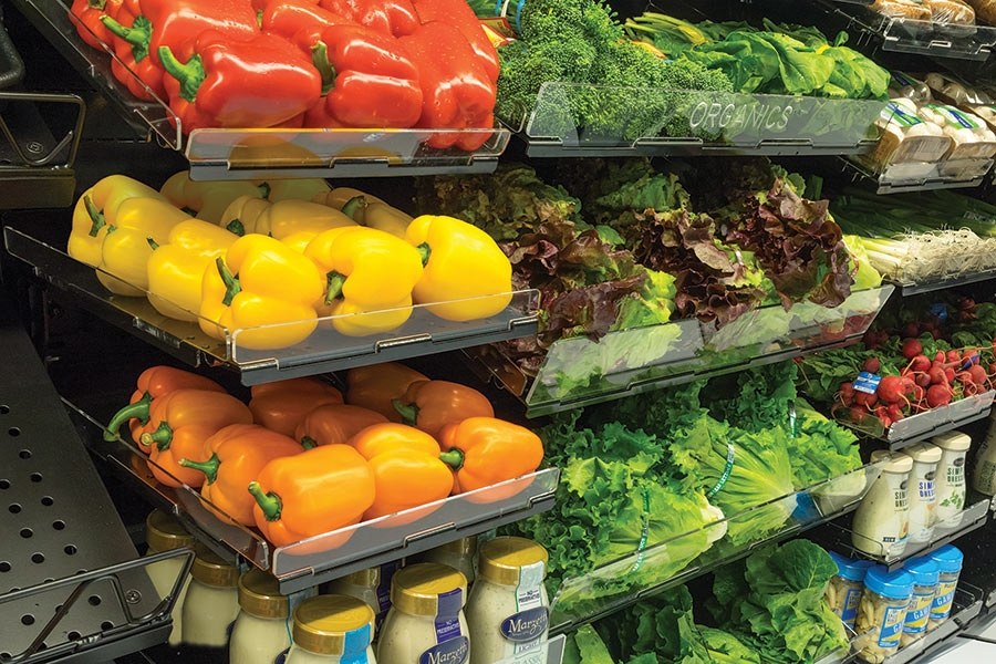 Fresh-Fit® Thin Profile Shelving System