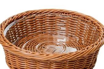 Wicker Basket Displays - Liners
