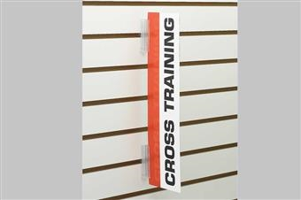Slatwall SuperGrip® Sign Holder