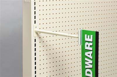 Telescopic SuperGrip® Aisle Sign Holder, Metal