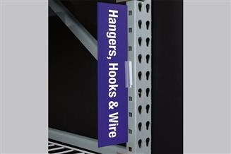 Warehouse Upright SuperGrip® Sign Holder, Square Hole