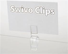 Shoe Clip Sign Holder
