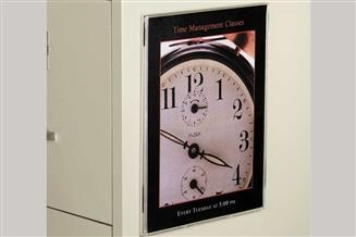 Wall-Mount Magnetic Sign Holder