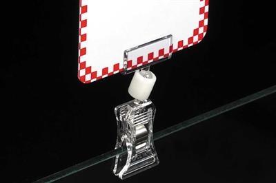 Swivo-Clip™ Clip-On Sign Holder 0801