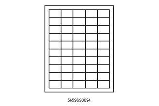 Paper Adhesive Labels - Square Corners