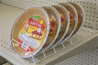 Pie Crust Merchandiser Rack