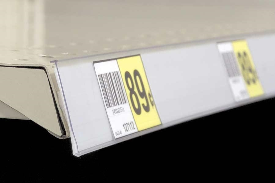 Extra-Duty Self-Adhesive Label Holder