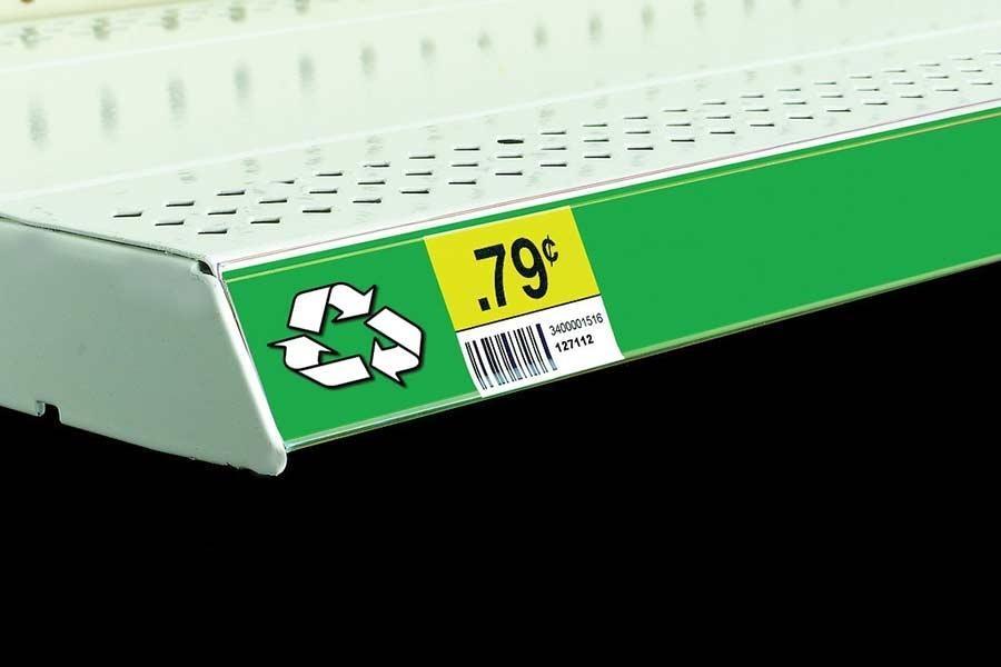 Economy Self-Adhesive Label Holder
