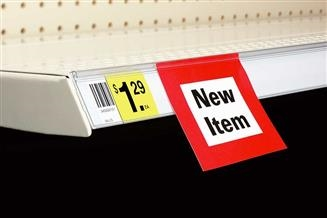 Data Strip® SuperGrip® Self-Adhesive Label Holder