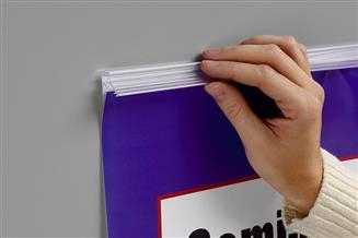Mercury™ Banner/Sign Holder with Adhesive
