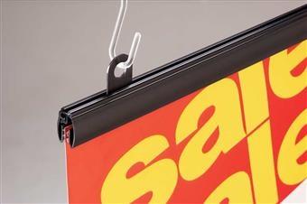 Mercury™ Designer Series Banner Hanger with Track