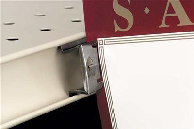 2495 Double-Duty™ Metal Shelf Channel Sign Holder