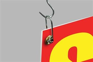 U Hook Banner Hanger