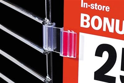 SuperGrip® Hinged Flag Sign Holder for Wire