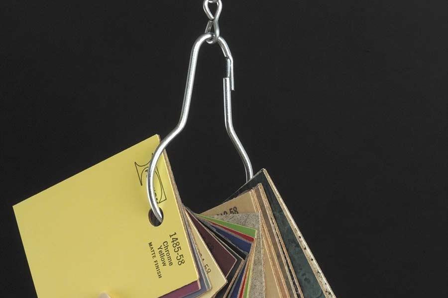 Metal Pear Clip Merchandiser