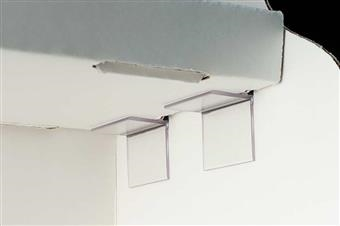 CC100 and CC200 Corr-A-Clip® Shelf Supports