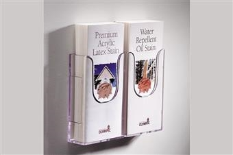 Excelsior® Wall-Mount Linking Literature Holder