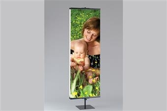 Premier™ MM2 SuperGrip® Banner Stand