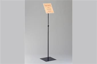 Premier™ Covered-Face Sign Display Stand