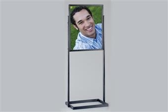 Premier™ Posterframe Floor Stand - Square Tubing