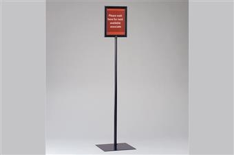 Premier™ Metal Sign Frame Display Stand