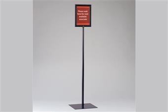 Premier™ Metal Sign Frame Display Stand