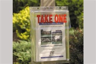 Outdoor Literature Holder