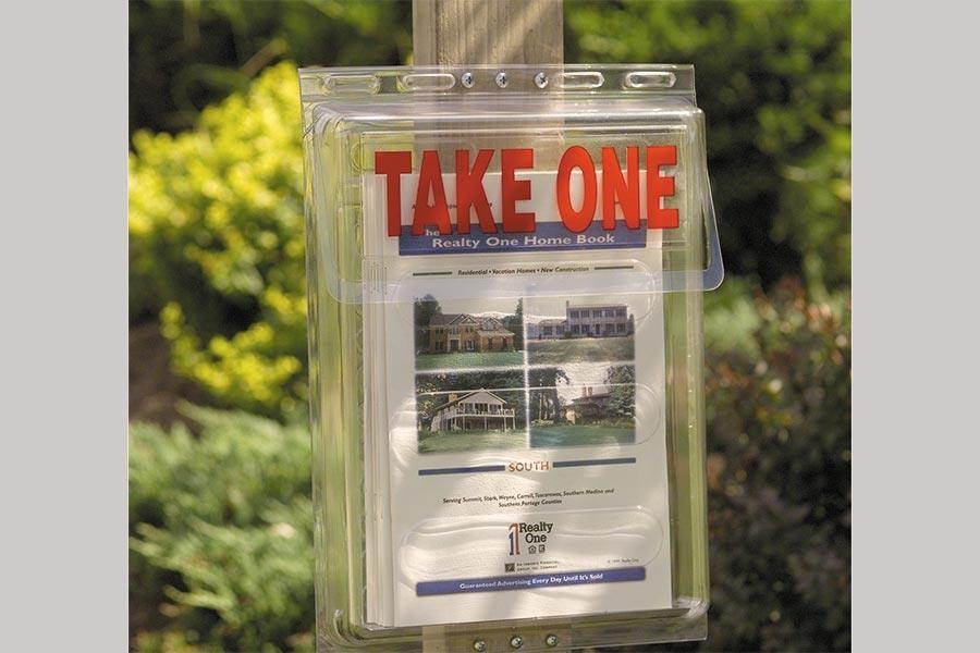 Outdoor Literature Holders
