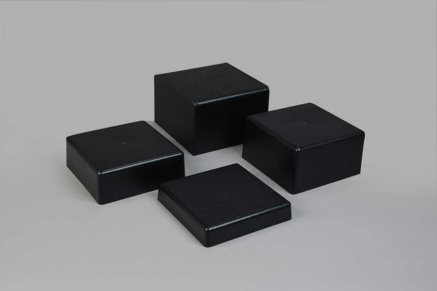 Black Cube Pedestals