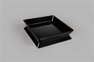 Melamine Reversible Square Display Bowl