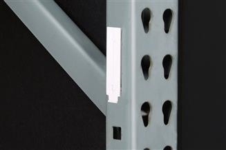 Warehouse Upright Bracket, Square Hole