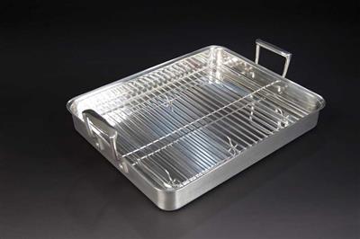 Stainless Steel Rotisserie Pan