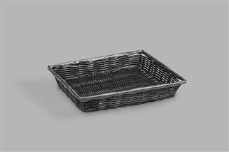 Synthetic Black Basket
