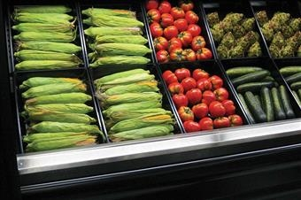 Fresh-Fit® Vacuum-Formed Plastic Display Baskets