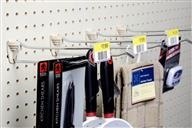 Scanning Peg Hooks – siffron's scanning pegboard hooks include Fastback scanning peg hooks, wire scanning peg hooks, gondola upright scanning peg hooks and loop scanning peg hooks. Fastback Hook, Wire Hook, Gondola Upright Hook.