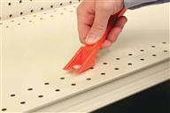 Label Holder Accessories – siffron's label holder accessories include the universal label holder tool for inserting labels into Data Strip, and color inserts for adding color to the shelf edge.