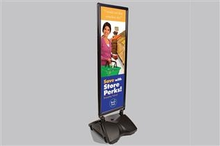 Windmaster® Sign Frame with Rolling Base