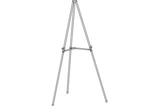 Premier™ Adjustable Display Easel