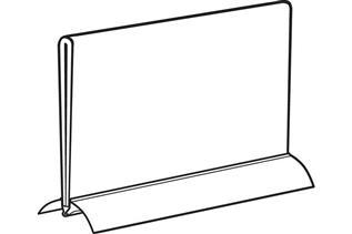 Aluminum Snap Base Sign Holder